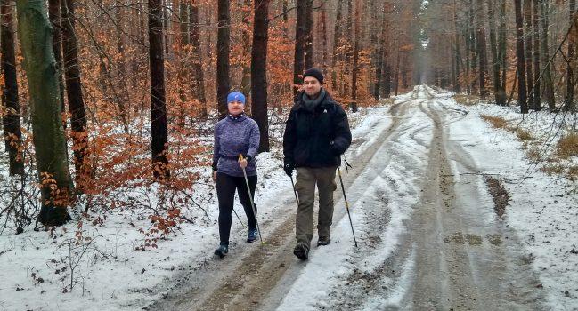 Nordic Walking opanował Suchy Bór